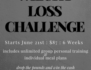 THE 6th ANNUAL WEIGHT LOSS CHALLENGE